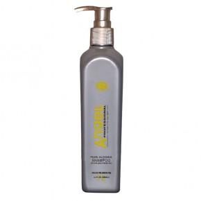 Шампунь бессульфатный серебристый антижелтый эффект Ангел | PearL Glossing Shampoo Angel