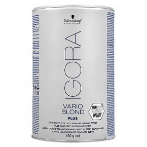 Осветляющий порошок IGORA VARIO BLOND PLUS | Schwarzkopf IGORA VARIO BLOND PLUS