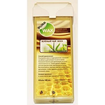 Воск для депиляции в картридже Зеленый чай | PureWax Warm Wax