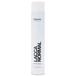 Лак для волос нормальнойфиксации Капус 750 | Kapous Lacca Normal 750