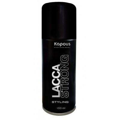Лак для волос сильной фиксации Капус 100 | Kapous Lacca Strong 100