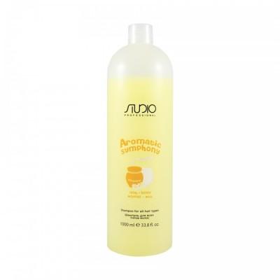 Шампунь для волос Молоко и мед Студио Профэшнл Aromatic Symphony Studio Professional