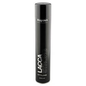 Лак для волос сильной фиксации Капус 500 | Kapous Lacca Strong 500