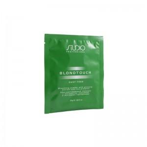 Обесцвечивающий порошок  с женьшенем и рисовыми протеинами Студио Профэшнл 30| BLONDTOUCH Dust Free Studio Professional 30