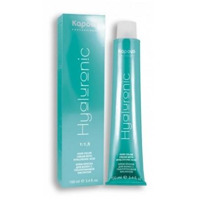 Крем-краска для волос KAPOUS Professional Hyaluronic acid| Hair color cream KAPOUS Professional Hyaluronic acid