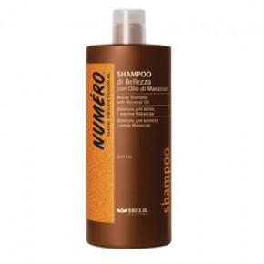 Шампунь для волос с маслом макассар и кератином Брелил | BRELIL Numero Shampoo with Keratin 1000