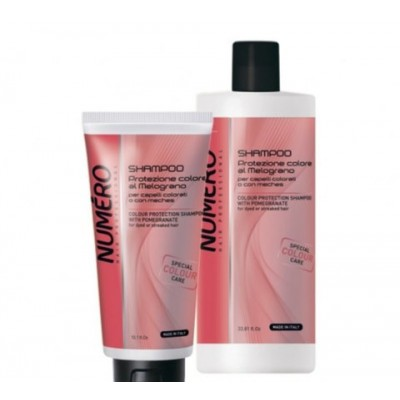 Шампунь для окрашенных и мелированных волос с экстрактом граната | Colour Protection Shampoo With Pomegranate