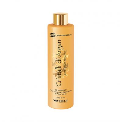 Шампунь для волос с маслом аргании и алоэ   Shampoo Intensive Beauty