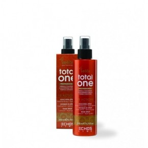 Крем-спрей на основе масла Аргании 15 в 1 Экослайн |EchosLine Total One Professional