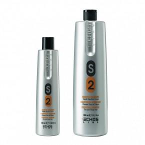 Шампунь для сухих и вьющихся волос с молочными протеинами Экослайн| EchosLine S2 Dry & Frizzy Hair Shampoo