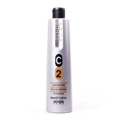 Кондиционер для сухих и вьющихся волос с молочными протеинами | EchosLine C2 Dry & Frizzy Hair Conditioner