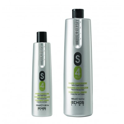 Шампунь против жирной кожи головы | S4 Plus Anti Sebum Shampoo