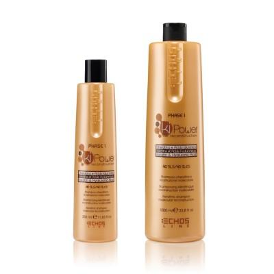 Шампунь для молекулярного восстановления   EchosLine Ki Power Shampoo
