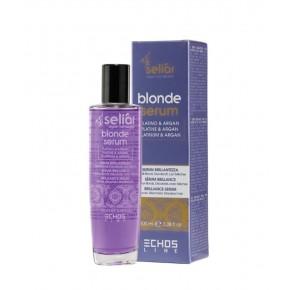Сыворотка с микрочастицами платины и аргановым маслом | EchosLine Blonde Serum