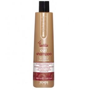 Бессульфатный шампунь для вьющихся волос с медом и маслом Аргании Экослайн | EchosLine Seliar Curl Shampoo
