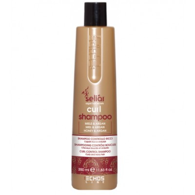 Шампунь для вьющихся волос с медом и маслом Аргании | EchosLine Seliar Curl Shampoo