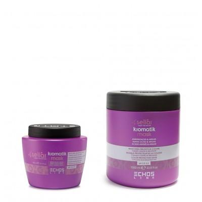 Маска для защиты цвета окрашенных и осветленных волос | EchosLine Kromatik Mask Color Protection Mask
