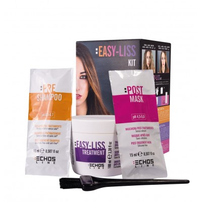 Набор для выпрямления волос Экослайн | EASY-LISS KIT EchosLine