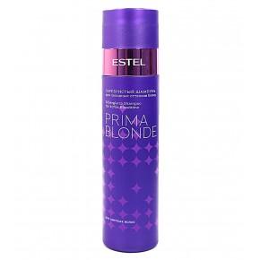 Серебристый шампунь для холодных оттенков Эстель Профессионал Прима Блонд | Estel Professional Prima Blonde Shampoo