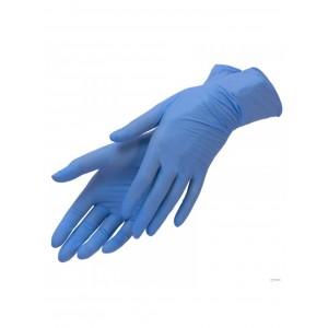 Нитриловые перчатки Эстель голубые размер М | Nitrile GLoves Estel M'use Blue M
