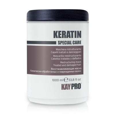 Реструктурирующая маска с кератином для химически поврежденных волос Кэйпро 1000 | Keratin Mask KayPro 1000