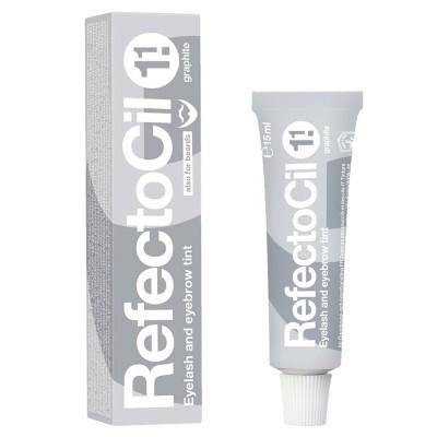 Краска для бровей и ресниц Рефектоцил графитовая RefectoCil 1.1