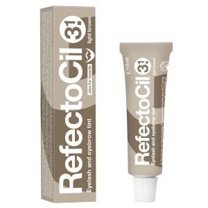 Краска для бровей и ресниц Рефектоцил светло-коричневая RefectoCil 3.1