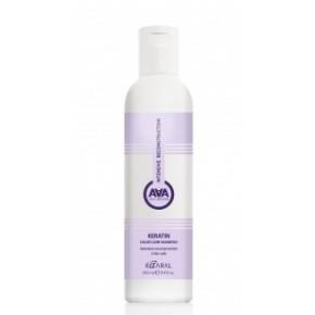 Кератиновый шампунь для окрашенных и химически обработанных волос ААА | Kaaral Keratin Color Care Shampoo AAA