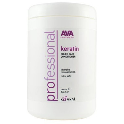 Кератиновый кондиционер для окрашенных и химически обработанных волос | Kaaral Кeratin Color Care Conditioner AAA