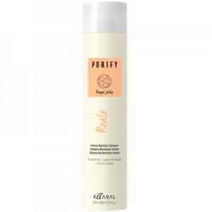 Восстанавливающий шампунь для поврежденных волос | Kaaral Purify Reale Intense Nutrition Shampoo